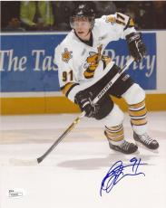 Steven Stamkos Autographed Signed Sarnia Sting OHL 8x10 Photograph (JSA)