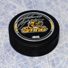 Steven Stamkos Sarnia Sting Autographed OHL Hockey Puck
