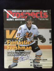 Steven Stamkos Signed Prospects Magazine News Edition Sarnia Sting Lightning
