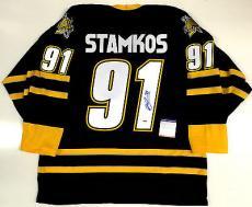 Steven Stamkos Signed Sarnia Sting Ohl Jersey Psa/dna Coa Z74573 Lightning