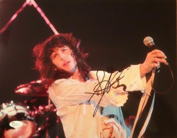 STEVEN TYLER (Aerosmith) Authentic Signed 11X14 Photo Autographed JSA #N15770