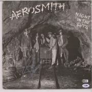 Steven Tyler Aerosmith Autographed Night In The Ruts Album - PSA
