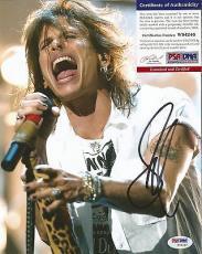 Steven Tyler Aerosmith Music Legend Psa/dna Coa Signed Autographed 8x10 Photo