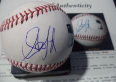 Steven Tyler Aerosmith Music Legend Signed Autograph Romlb Baseball Jsa Loa Rare