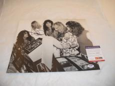 Steven Tyler Aerosmith Sexy Signed Autographed 11x14  Photo PSA Certified #2