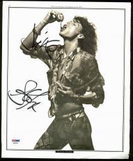 Steven Tyler Aerosmith Signed 10x12 Magazine Page Photo PSA #AB40954