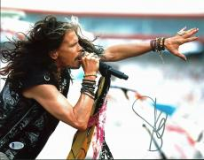 Steven Tyler Aerosmith Signed 11x14 Photo Autographed BAS #C63750