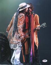 Steven Tyler Aerosmith Signed 11X14 Photo Autographed PSA/DNA #U72092