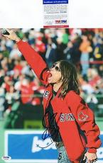 Steven Tyler Aerosmith Signed 11x14 Photo PSA DNA COA Autograph Boston Red Sox