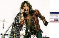 Steven Tyler Aerosmith Signed 11x14 Photo PSA DNA COA Autograph Y81887