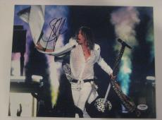 STEVEN TYLER (Aerosmith) Signed 11x14 PHOTO w/ PSA COA