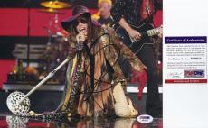 Steven Tyler Aerosmith Signed 8x10 Photo - PSA DNA