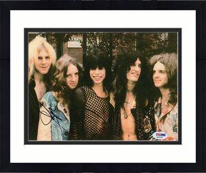Steven Tyler Aerosmith Signed 8x10 Photo w/PSA DNA Walk This Way X18706