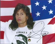 Steven Tyler Aerosmith Signed Autographed 8x10 Photo Lead Singer 1G