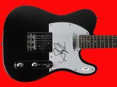 Steven Tyler Aerosmith Signed Guitar Autographed PSA/DNA #U25943