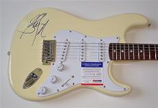 Steven Tyler Aerosmith Signed Guitar Psa Coa Q82973