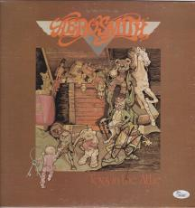 Steven Tyler Aerosmith Signed Toys In The Attic Record Album Jsa Coa K42461