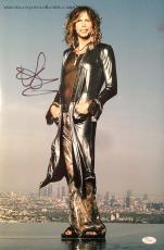 STEVEN TYLER (Aerosmith/American Idol) signed color 12x18-JSA #I61603