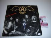 Steven Tyler Aerosmith,get Your Wings Jsa/coa Signed Lp Record Album
