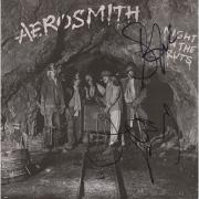Steven Tyler and Joe Perry Aerosmith Autographed Night in the Ruts Music Album - JSA