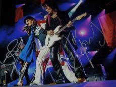 Steven Tyler and Joe Perry Signed - Autographed 11x14 Aerosmith Photo - Guaranteed to pass PSA or JSA