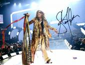 "Steven Tyler Autographed 11"" x 14""Aerosmith Bright White Background  Photograph - PSA/DNA COA"