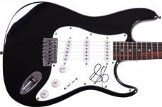 Steven Tyler Autographed Aerosmith Guitar AFTAL UACC RD COA