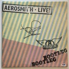 "Steven Tyler Autographed Aerosmith ""LIVE Bootleg"" Album Signed PSA DNA COA"