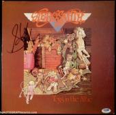 "Steven Tyler Autographed Aerosmith ""Toys In The Attic"" Album Signed PSA DNA COA"