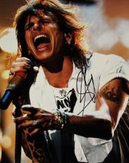 Steven Tyler Signed - Autographed Concert 11x14 Aerosmith Photo