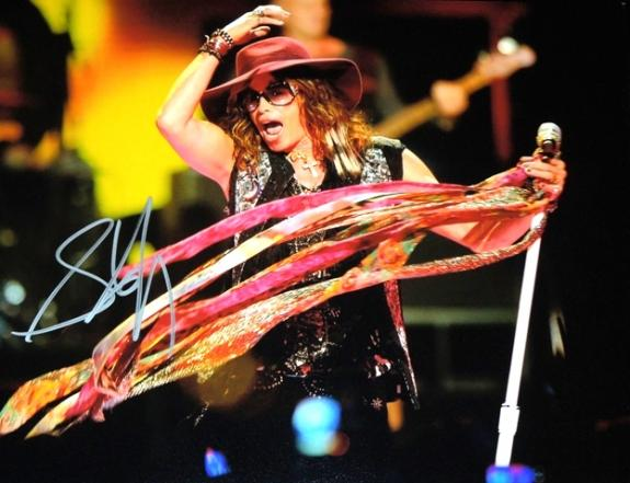 Steven Tyler Signed - Autographed Aerosmith 11x14 inch Photo - Guaranteed to pass BAS
