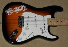 Steven Tyler Autographed Guitar (aerosmith) W/ Proof!