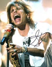 Steven Tyler Autographed Signed 8x10 Concert Photo UACC RD Coa AFTAL