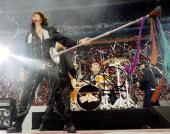 Steven Tyler Autographed Signed 8x10 Live Show Photo UACC RD COA AFTAL