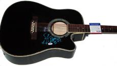 Steven Tyler Autographed Signed Dream On Guitar & Proof PSA