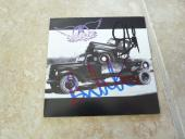 Steven Tyler Brad Whitford Aerosmith Pump Autographed Signed CD PSA Guaranteed