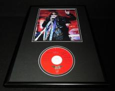 Steven Tyler Framed 12x18 Aerosmith Classics Live CD & Photo Display