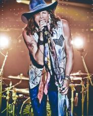 Steven Tyler Hand Signed   Autographed 8 x 10 Photo - 1