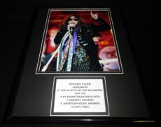 Steven Tyler in concert Aerosmith Framed 11x14 Photo Display