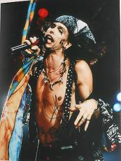 STEVEN TYLER Of AEROSMITH Signed Autographed 11x14 In Concert Music PHOTO