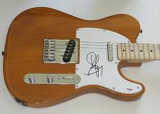 STEVEN TYLER of AEROSMITH SIGNED Fender TELECASTER GUITAR Psa Dna