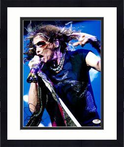 Steven Tyler Signed 11x14 Aerosmith Guns Shirt Photo James Spence JSA COA