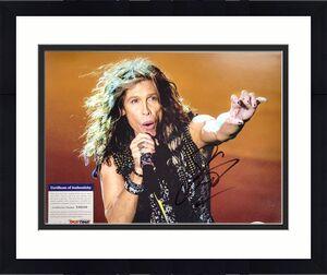 Steven Tyler Signed 11x14 Aerosmith Photo PSA/DNA Auto Autograph C