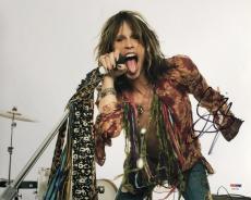 Steven Tyler Signed 11x14 Aerosmith Studio Photo PSA Hologram X92256