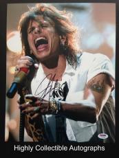 Steven Tyler Signed 11x14 Photo Autograph Psa Dna Coa Aerosmith