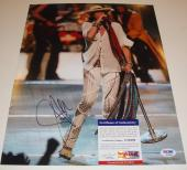 Steven Tyler Signed 11x14 Photo w/PSA DNA Proof Aerosmith American Idol #3