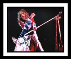 Steven Tyler Signed 8x10 Photo, Framed. Aerosmith. JSA.