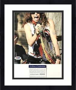 Steven Tyler signed 8x10 photo PSA/DNA Autographed