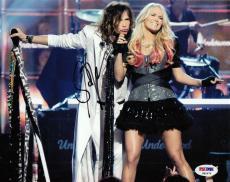 Steven Tyler Signed 8x10 Photo w/PSA DNA Proof Aerosmith American Idol #3