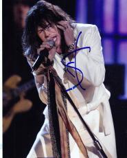 Steven Tyler Signed 8x10 Photo w/COA Proof Aerosmith American Idol #8